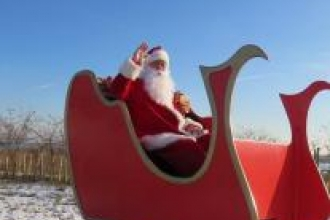 Santa at Abberton