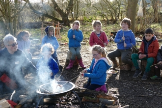 Family Forest School at Tiptree Heath