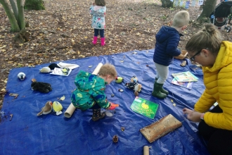 Saturday Forest School Nature Tots
