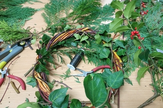 Naze Wreath Making Event