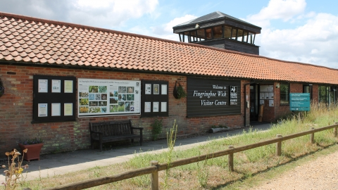 Fingringhoe Wick visitor centre