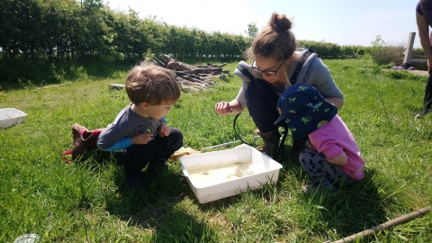 Nature Tots Pond Dipping