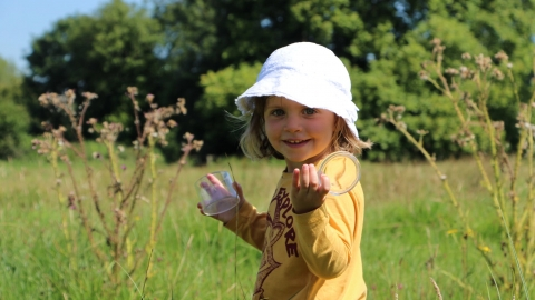 nature tots girl