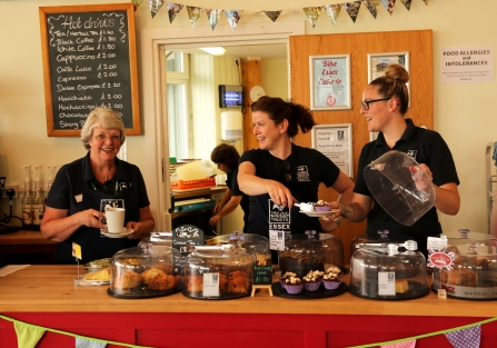 Catering volunteers