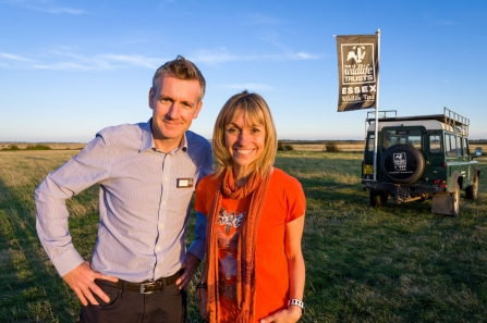 Andrew Impey (CEO) and Michaela Strachan