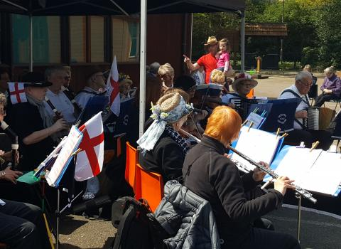 Music at Bluebell Day