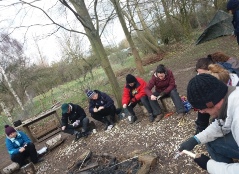 Forest School Adult training Level 3